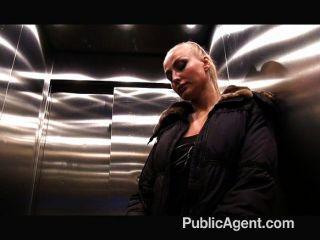 Publicagent tattooed blonde cash para sexo