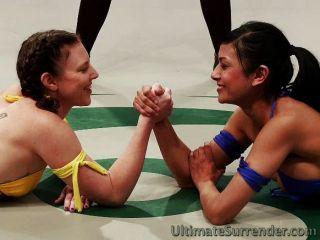 Babes tesão na tag team wrestling