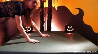 Samantha saint halloween fucking