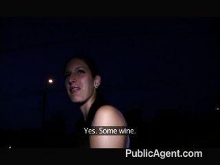 Publicagent awesome sexo ao ar livre com cutie