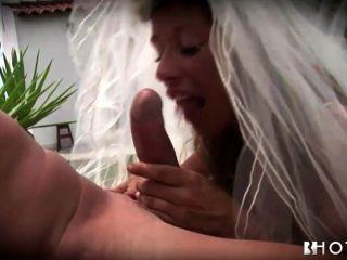 Hotgold, ansioso, horny, noiva, batido, no, casamento