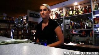 Quente, checo, barman, pago, foda, rapidamente