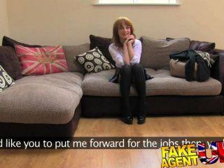 Fakeagentuk brit menina primeiro anal na câmera
