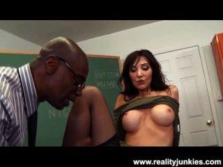 Slutty professor anal cuckold para grande milf milf