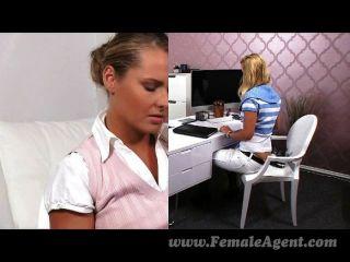 Femaleagent como prazer uma mulher