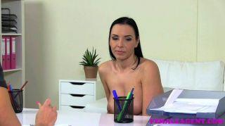 Femaleagent big tits e curvy milf casting