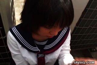 Japonesa colegial suga galo sem censura