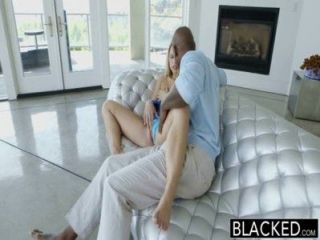 Blacked perfect lacey johnson squirts em galo preto grande