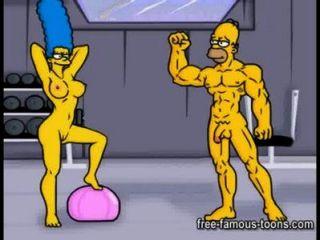 Paródia pornô simpsons