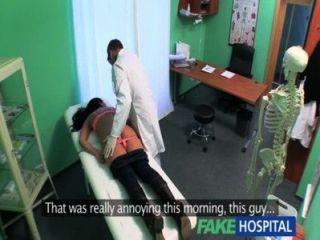 Fakehospital apertado, quente, molhado, paciente, gemidos, prazer