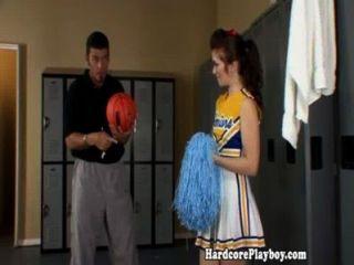 Amador teen cheerleader fucked by coach