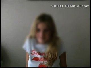 Amadine adolescente loura primeira porno casting