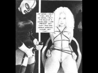Sonhos de uma sádica bondage fetish comic