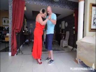 Mature bbw slut samantha 38g dá lições de caralho para stud