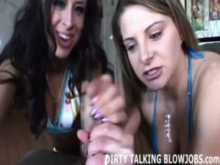 Você pode lidar com a obtenção de um hot pov double blowjob?