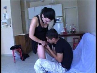 Creampie acidental para teen quente com um desconhecido !!!Amador francês