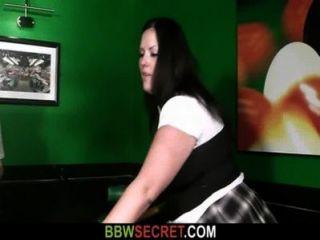 Ela o encontra fazendo batota com bbw