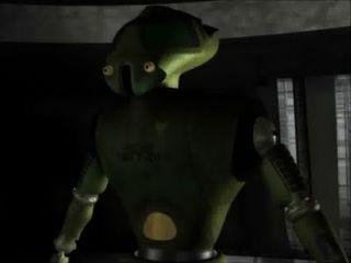 Animação 3d: robôs do sexo