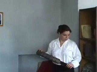 Escravos russos 24 palmadas severas