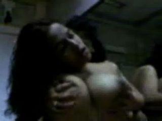 Desi lésbicas meninas universitárias sexo quente no quarto albergue