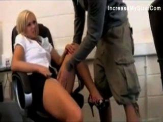 Big ass office girl hardcore fuck vídeo