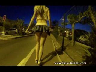 Sem calcinha na rua