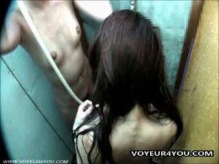 Câmera escondida no chuveiro