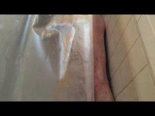 Garrafa de água agachamento