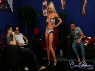 Sexy kiara lord cuckolds seu homem para uma carga maior