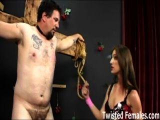 Amante brandi lyons fazendo seu escravo sofrer