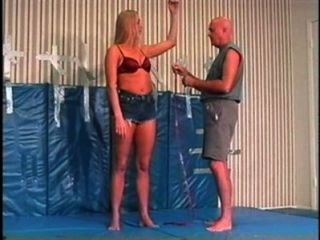 Flamingo wrestling mw084 jessica vs paul parte 1