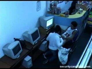 Follada em cibercafe de madrid