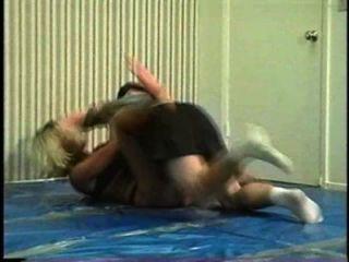 Flamingo misturado wrestling mw066 2 jill vs brett part2