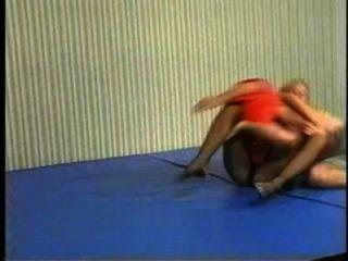 Flamingo misturado wrestling mw086 jessica vs charlie part2