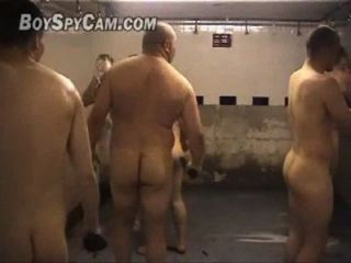 Tempo de rugby não vestiário (time de rugby no armário)