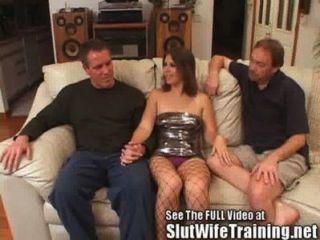 Jovem esposa fucked por marido e sujo d