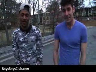 Musculoso preto gay meninos humilhar branco twinks hardcore 02