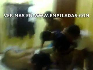 Amigos follando a mexicana colegiala borracha follada