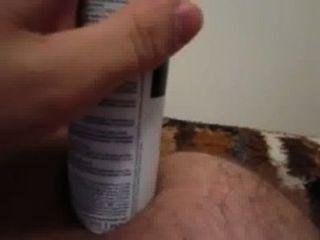 Brinquedo anal caseiro