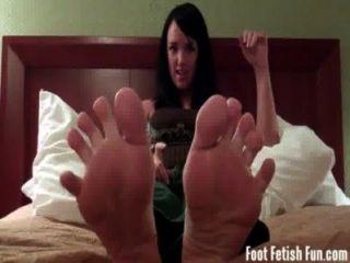 Mandy taylor quer que você chupar seus dedos do pé