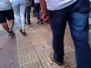 Mulher brasileira com o marido