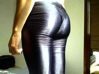 shorts lycra brilhante