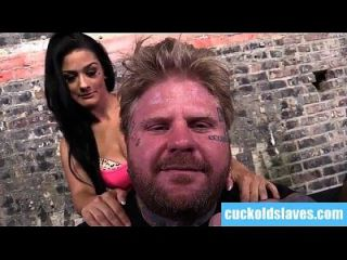 Katrina jade e esposo interracial cuckold