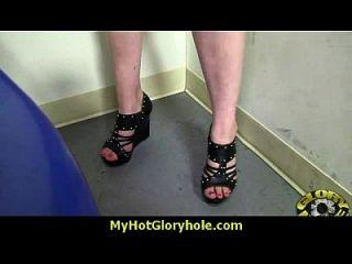 Hottie suga e foda galo preto para cusmhot em gloryhole 14