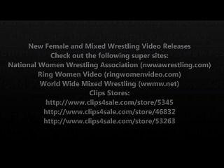 Novo volume de liberação de vídeo wrestling wrestling e mixed wrestling 7