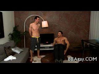 Homo chama lusty anal lickings