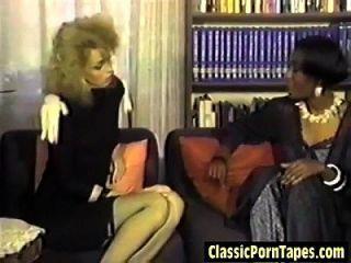 lésbica interracial quente dos anos oitenta