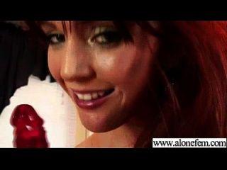 Horny Cute amateur girl masturba clip 21