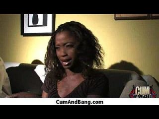 garota negra suga muitas torneiras brancas no grupo redneck 13