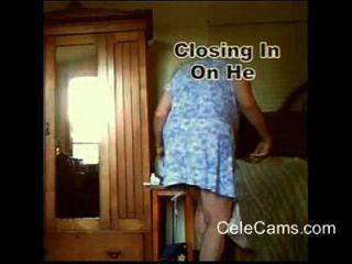 passar a manhã com ela na câmera escondida